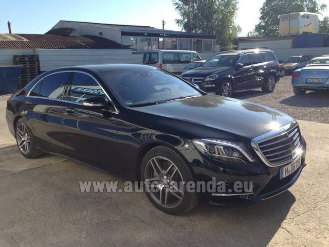 Rental Mercedes-Benz S 350 L BlueTEC AMG in Italy