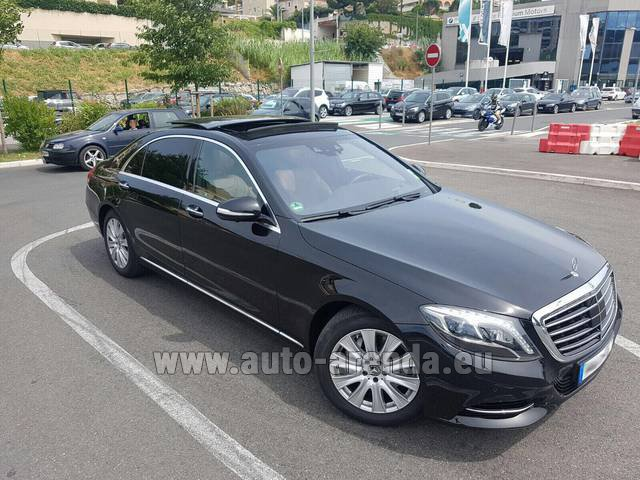 Rental Mercedes-Benz S 350 Long AMG in Italy