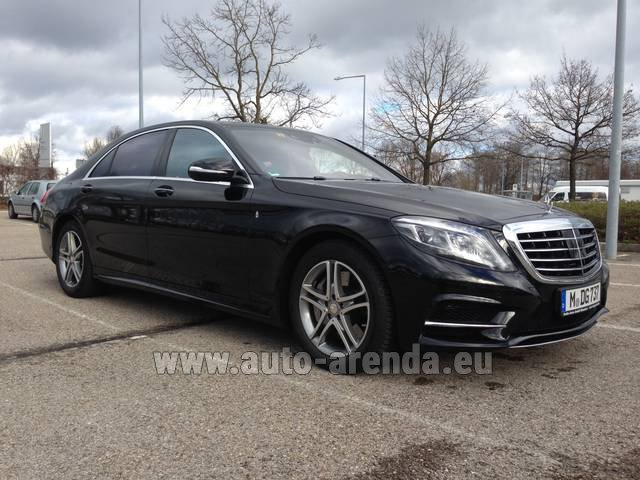 Rental Mercedes-Benz S 350 Long Diesel 4x4 AMG equipment in Italy