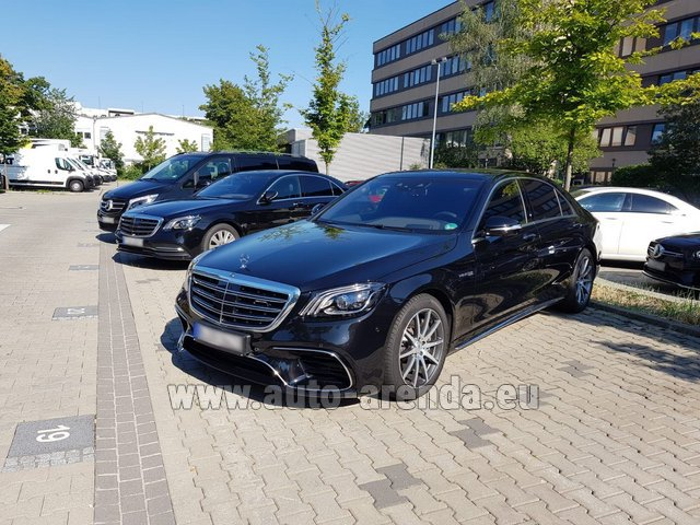 Rental Mercedes-Benz S 63 AMG Long in Italy