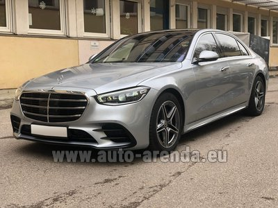 Mercedes S400 Long 4MATIC комплектация AMG