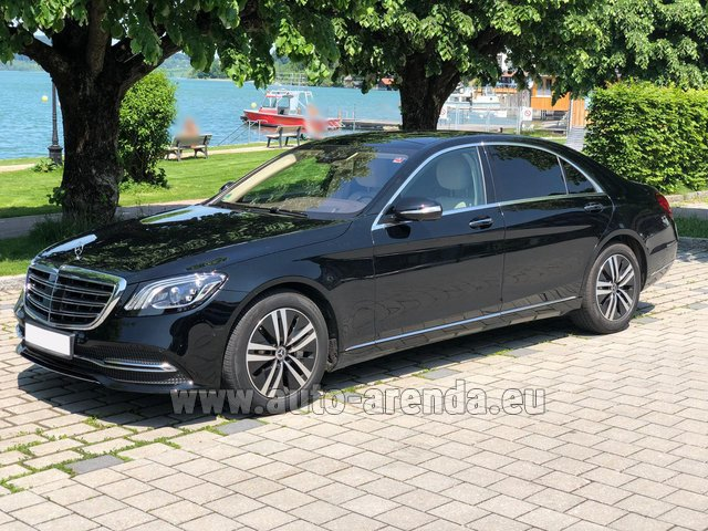 Rental Mercedes-Benz S-Class S400 Long 4Matic Diesel AMG equipment in Italy