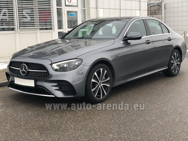 Rental Mercedes-Benz E400d 4MATIC AMG equipment in France