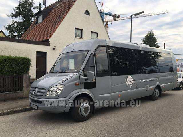 Rental Mercedes-Benz Sprinter 29 seats in Germany