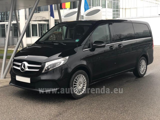 Rental Mercedes-Benz V-Class (Viano) V 300 d 4MATIC AMG equipment in Italy