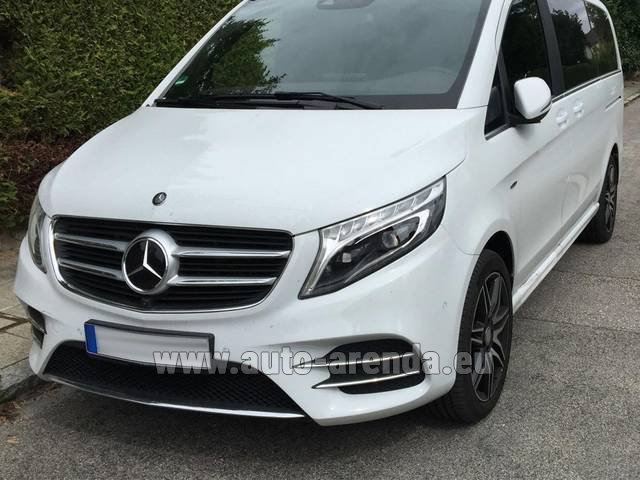 Rental Mercedes-Benz V-Class (Viano) V 250 D 4Matic AMG Equipment in Germany