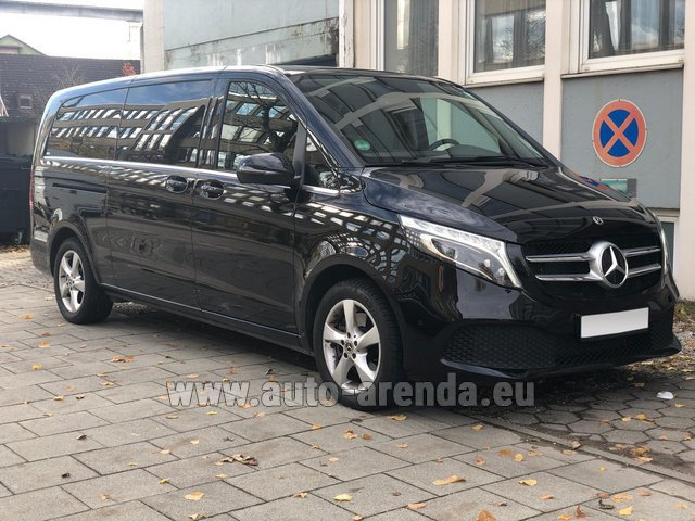 Rental Mercedes-Benz V-Class V 250 Diesel Long (8 seater) in Europe