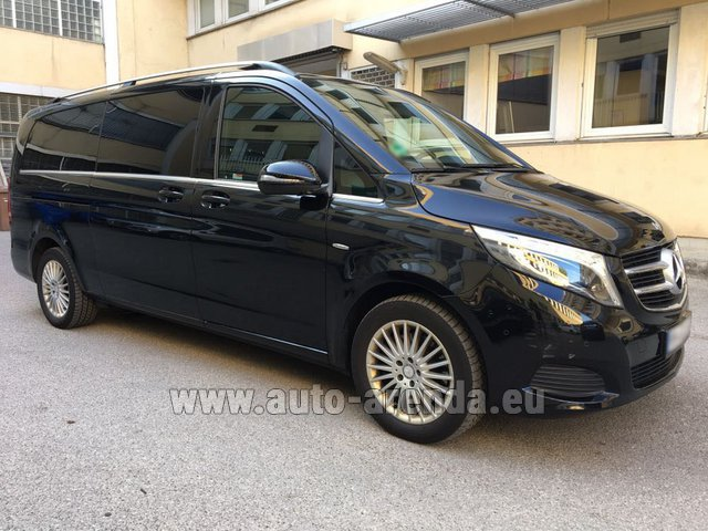Rental Mercedes-Benz V-Class V 250 Diesel Long (8 seats) in Italy