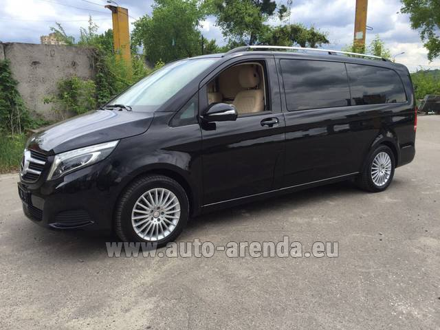Rental Mercedes-Benz V-Class V Limo Business VAN in Italy