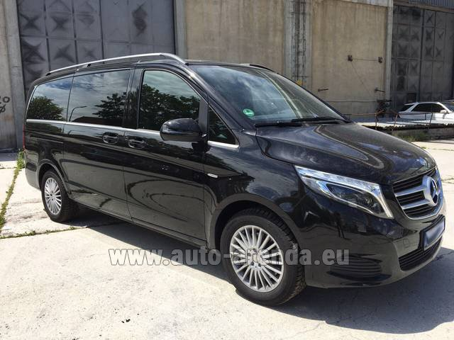 Rental Mercedes-Benz V-Class (Viano) V 250 Long 8 seats in The Czech Republic