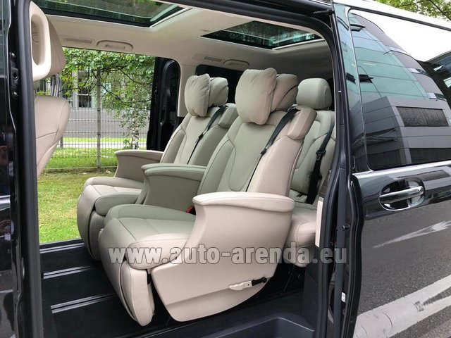 Прокат Мерседес-Бенц V300d 4MATIC EXCLUSIVE Edition Long LUXURY SEATS AMG Equipment в Бельгии