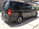 Mercedes Vito Long (1+8 Pax) AMG equipment car for transfers from airports and cities in Germany and Europe.