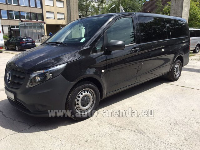 Rental Mercedes-Benz VITO Tourer 116 CDI (9 seats) AMG equipment in Italy