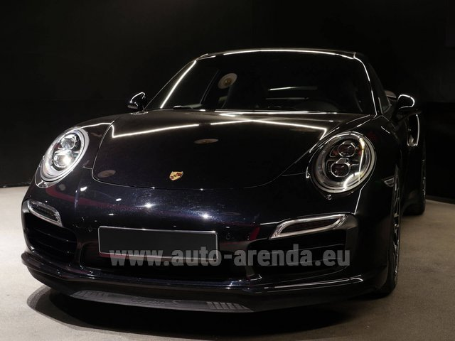 Rental Porsche 911 991 Turbo S Ceramic LED Sport Chrono Package in The Czech Republic