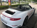 Rent-a-car Porsche 911 Carrera Cabrio White in French Riviera Cote d'Azur, photo 2