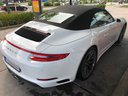 Rent-a-car Porsche 911 Carrera Cabrio White in French Riviera Cote d'Azur, photo 3