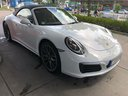 Rent-a-car Porsche 911 Carrera Cabrio White in French Riviera Cote d'Azur, photo 8