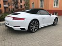 Rent-a-car Porsche 911 Carrera 4S Cabrio in Switzerland, photo 4