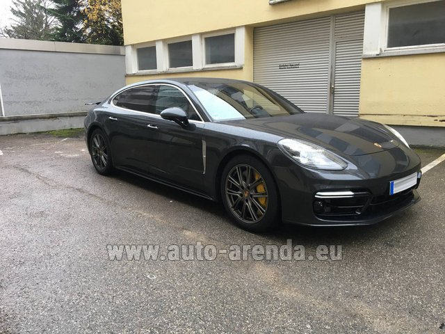 Rental Porsche Panamera Turbo Executive in Spain