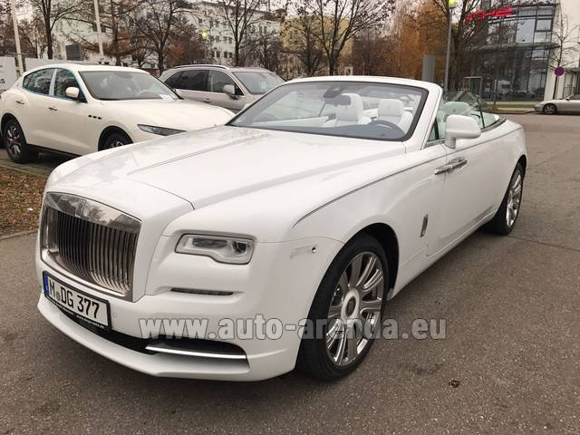 Rental Rolls-Royce Dawn in Europe