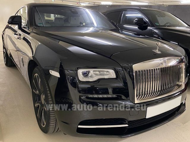 Rental Rolls-Royce Wraith in Europe
