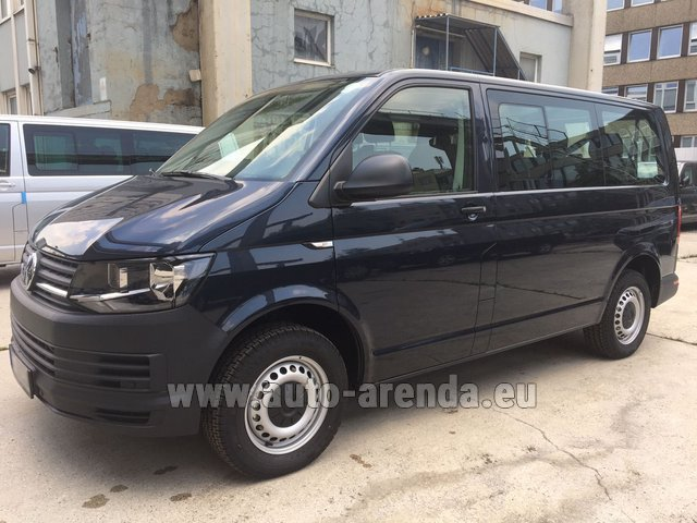 Rental Volkswagen Transporter T6 (9 seater) in Italy